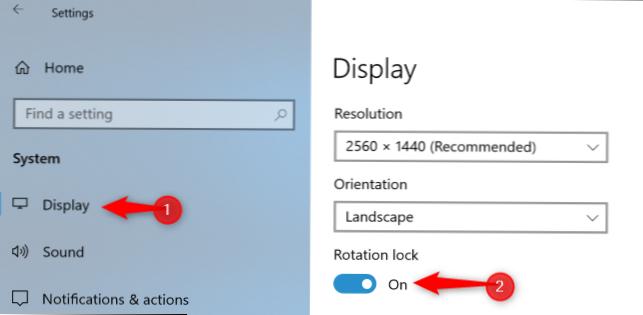 Cara Memutar Layar PC Anda (atau Memperbaiki Layar Samping ...