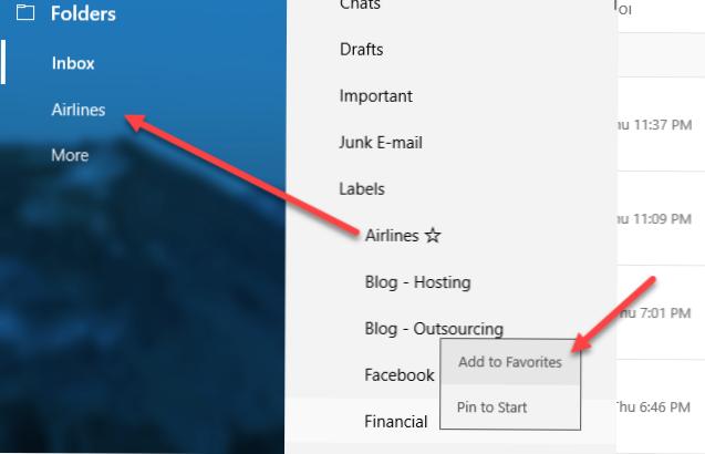 spoji gmail na izgled
