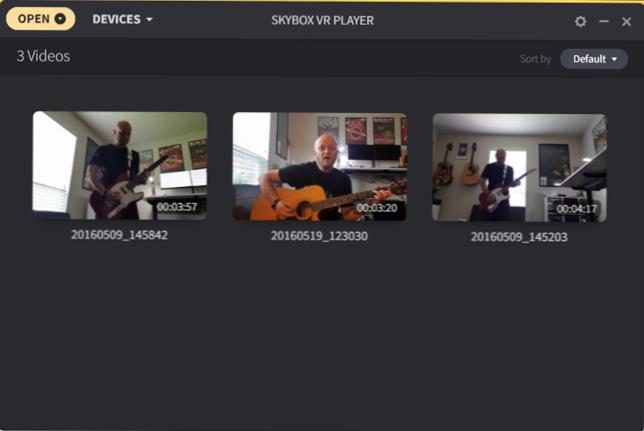 Cara Nonton Video Apapun di Oculus Go, Rift, HTC Vive, Gear