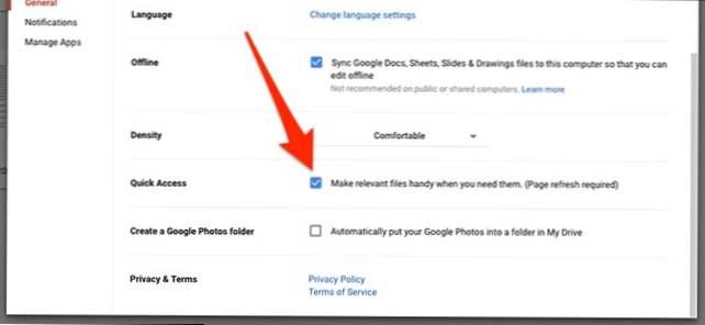 Cara Menonaktifkan Pintasan Akses Cepat Di Google Drive Bagaimana Caranya Kiat Komputer Dan Informasi Berguna Tentang Teknologi Modern
