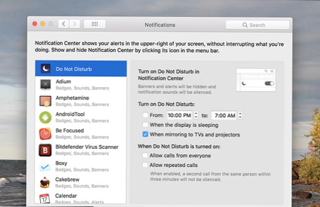Kuinka irrottaa harmittomat Mac-ilmoitukset (Miten