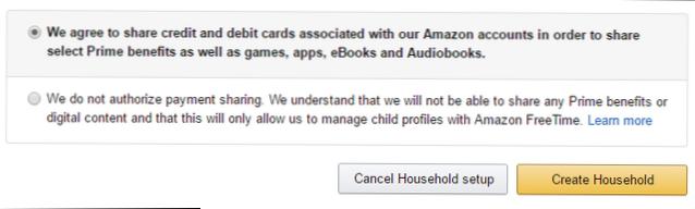 Jak skonfigurować Amazon Household i dzielić się