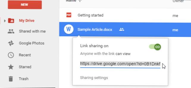 Cara Memperbarui File Bersama Di Google Drive Tanpa Mengubah Tautan Yang Dapat Dibagikan Bagaimana Caranya Kiat Komputer Dan Informasi Berguna Tentang Teknologi Modern