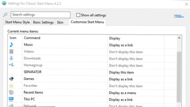 Bawa Windows 7 Start Menu ke Windows 10 dengan Classic Shell