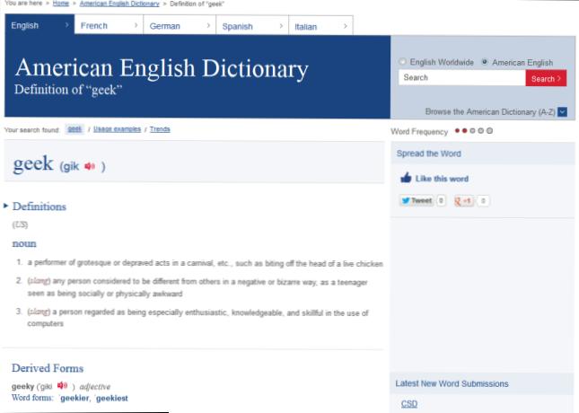 definiranje oxford rječnik