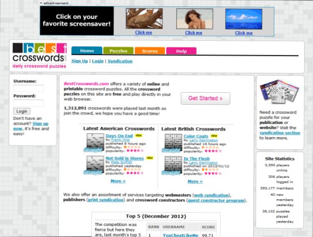 popis svih web mjesta za pronalaženje uk