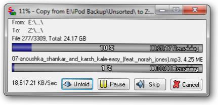 Pertempuran Pengolah Berkas: Windows, TeraCopy, dan