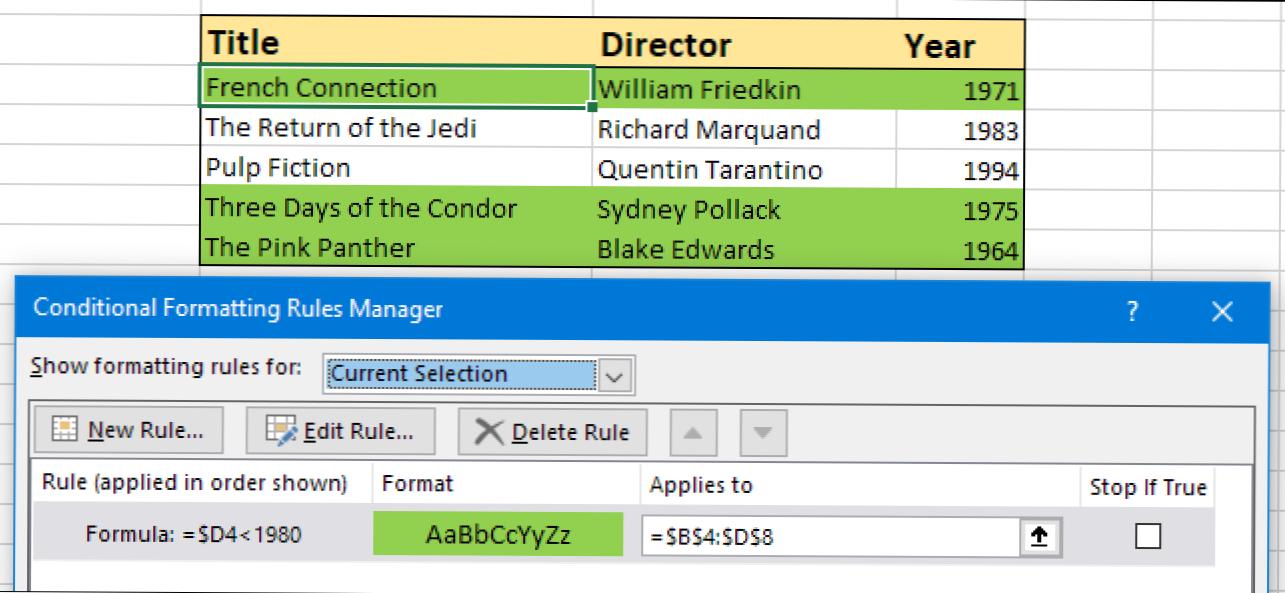 Jak Wyróżnić Wiersz W Programie Excel Przy Użyciu