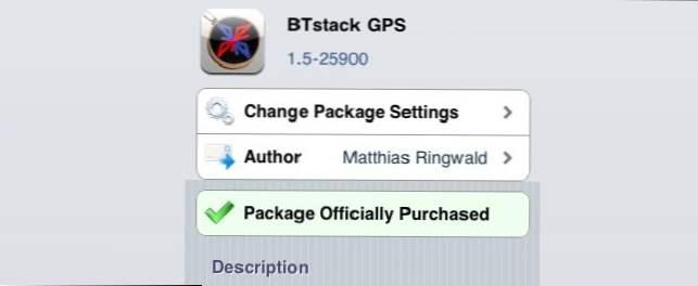 Podłącz GPS do iPada